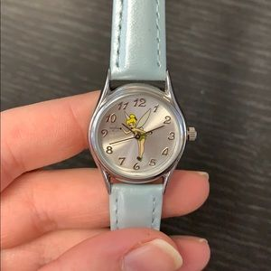 Disney tinkerbell watch light blue.